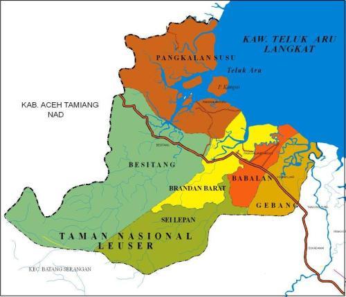 Kawasan Teluk Aru Langkat