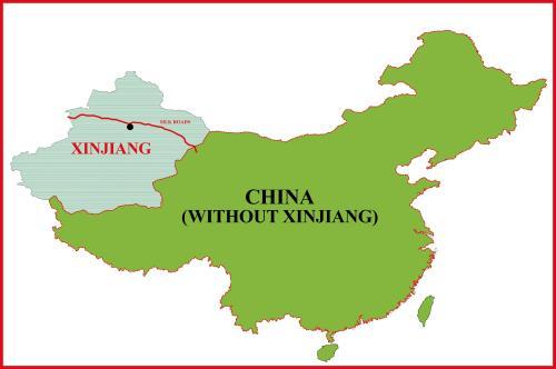 Xinjiang Tanpa China